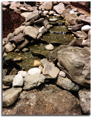 Building Waterfalls Pond Installs MD